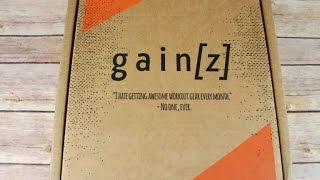 Gainz Box February 2017 Fitness Subscription Box Unboxing + Coupon #gainz