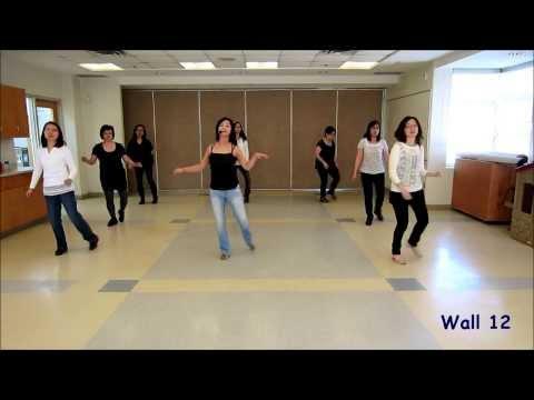Gin & Tonic - line dance (dance & walk through)