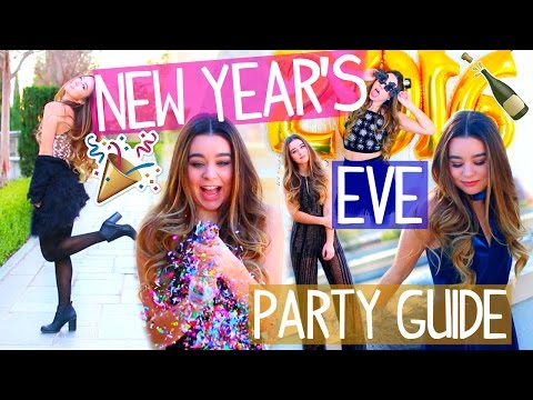 New Year's Eve Makeup, Outfit Ideas & Easy DIY Photo Booth!
