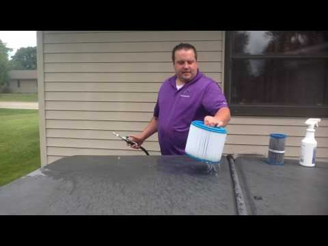 How To Clean Your Master Spa Filter