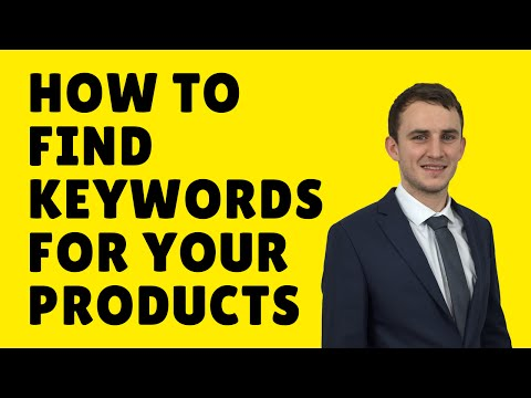How To Find The Best Keywords For Your Products By Ben Laing (Amazon Goldrush)