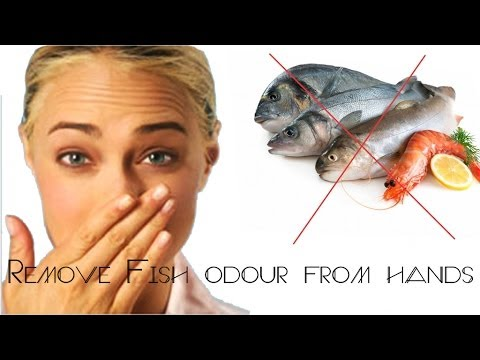 Tip :How to remove fish odour from hands