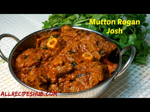 Mutton Rogan Josh | rogan josh recipe | mutton rogan josh gravy