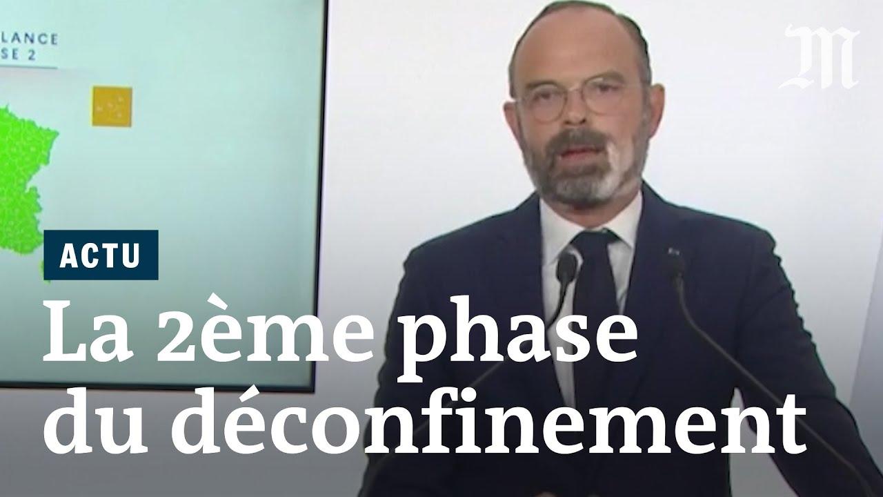 Déconfinement phase 2 : les annonces d'Édouard Philippe