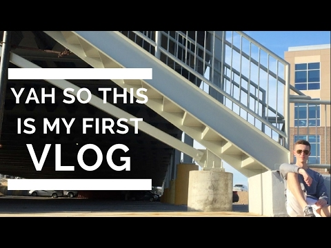 YAH SO THIS IS MY FIRST VLOG