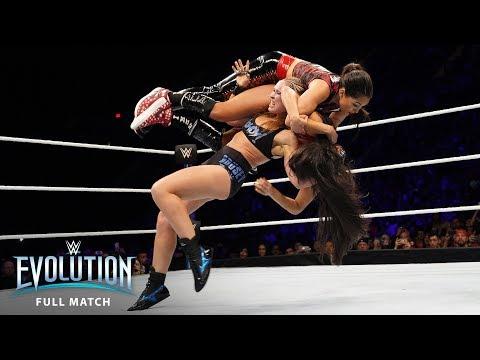 Xxx Mp4 FULL MATCH Ronda Rousey Vs Nikki Bella Raw Women 39 S Championship WWE Evolution WWE Network 3gp Sex