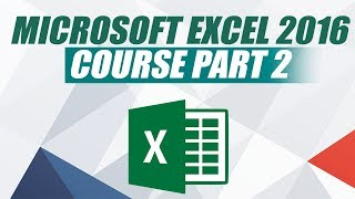 Microsoft Excel 2016 Course for Beginners - Learn MS Excel 2016
