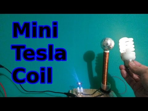 How to make a mini Tesla Coil