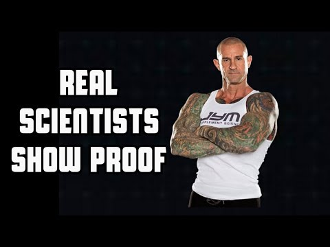 Just Jim Stoppani Claims 4 Percent Body Fat - Real Scientists Show Proof