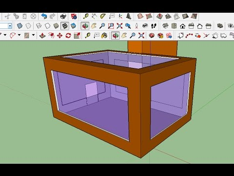 Sketchup - Transparent Objects