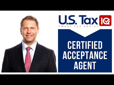 Apply for ITIN | Certified Acceptance Agent