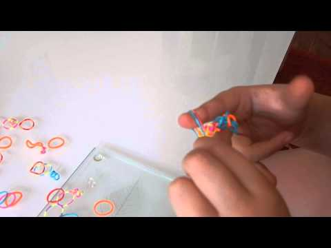 How to make a Fishtail Loom Band Braclet or Ring