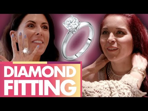 Shopping for ENGAGEMENT RINGS!?! (Beauty Trippin)