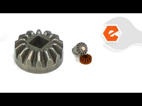 Chainsaw Repair - Replacing the Bevel Gear (Echo Part # V651000001)