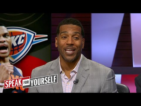 Jim Jackson on Westbrook's regular season stats, Riley's comments about LeBron | SPEAK FOR YOURSELF