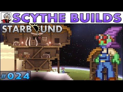 Scythe Builds Starbound -S2E024- Floran Village [Let's Play Walkthrough]
