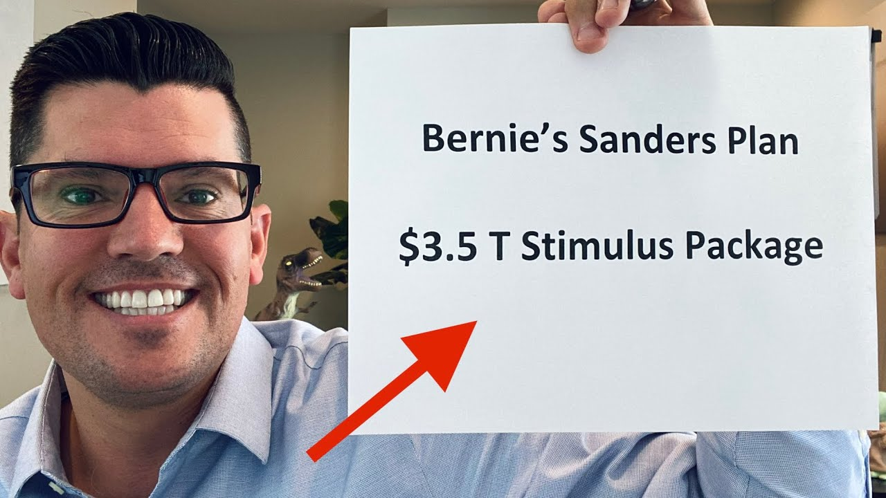🔴  Bernie Sanders Strategy   $3.5 Trillion Stimulus Package ON TRACK Say Schumer   Rent Relief