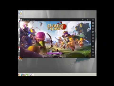 how to play clash of clans on pc with 1gb ram