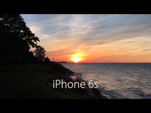 iPhone 6s vs. iPhone 6: Time-lapse at Sunset