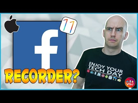 New iPhone Screen Recorder... FROM FACEBOOK!?
