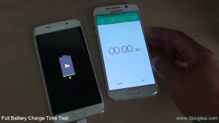 Samsung Galaxy S6 Edge: Time Taken for Full Battery Charge Test From 0 to 100%