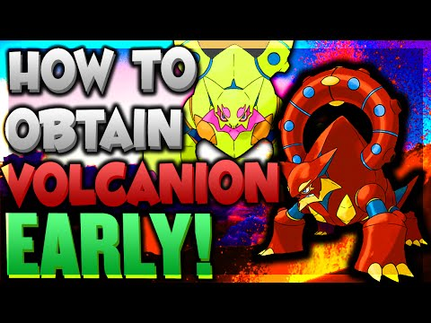 Pokemon ORAS - Get VOLCANION EVENT BEFORE RELEASE DATE! HOW to get VOLCANION ORAS/XY w/ Powersaves!