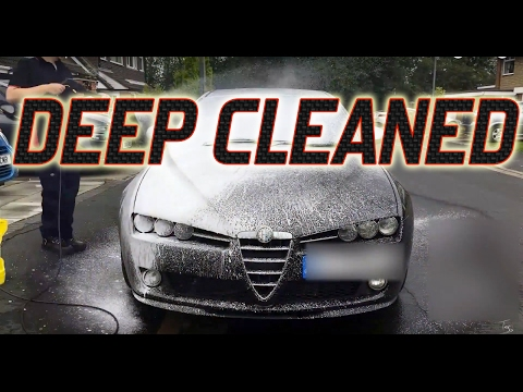 How to deep wash a car.