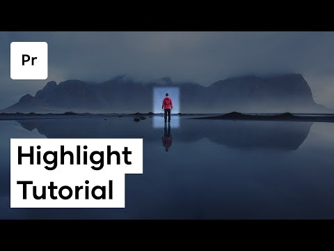 How To Highlight Things In Your Video In Premiere Pro | Tutorial