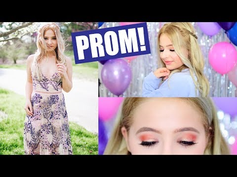 Junior Prom Hair, Makeup, and Outfit! GRWM