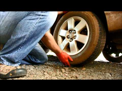 How to check wheel bearing play