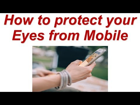 How to protect your Eyes from Mobile | How to Use Bluelight Filter App in Android Phone