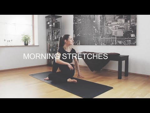 Morning Stretches ❤ Wake Your Body Up