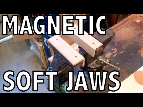 Quick Build:  Easy Magnetic Wooden Soft Jaws