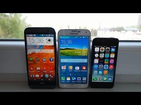 Videosrovnání - HTC One M8, Galaxy S5 a iPhone 5s