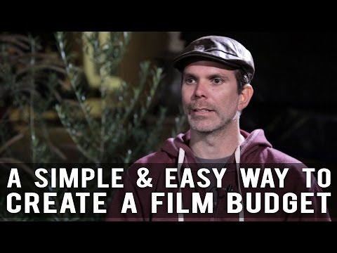 A Simple & Easy Way To Create A Film Budget by Devin Reeve