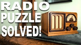Solving the IMPOSSIBLE Radio Puzzle!!