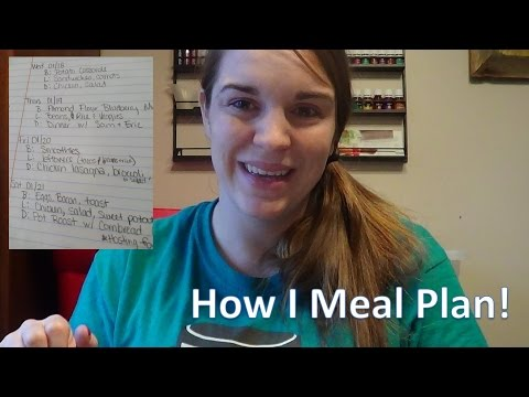 How I Meal Plan to Save Money and Eat Healthy!