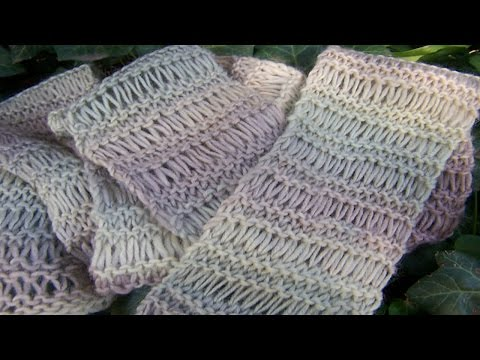 Easy Knitted Scarf