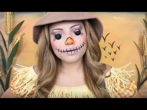 Creepy Scarecrow Makeup