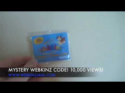 Giveaway FREE Webkinz Code! Mystery Webkinz! 10,000 Views!!! - GC