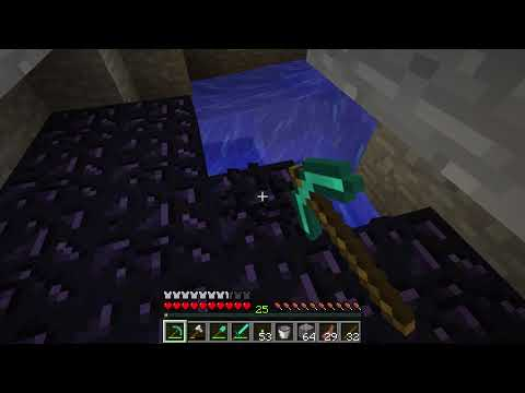 Getting Obsidian - Minecraft Lets Play 69 Episode 420