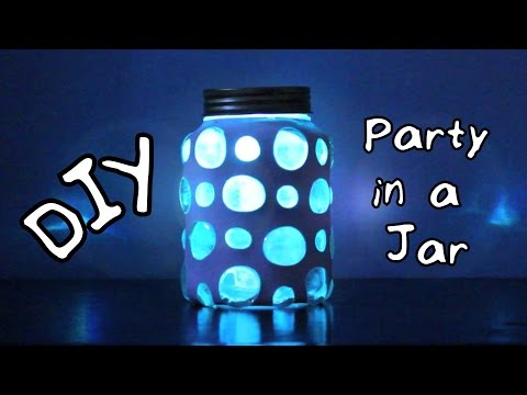 DIY Party in a Jar | #DIYwithJhoy