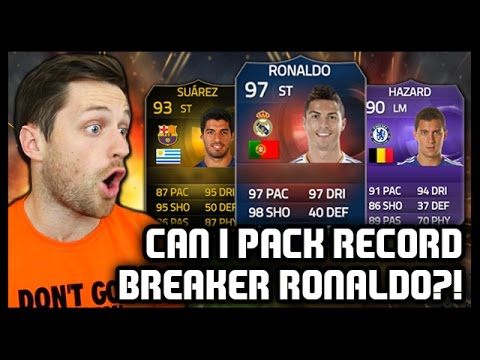RECORD BREAKER RONALDO?! Fifa 15 Ultimate Team Pack Opening