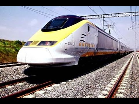 Time Lapse: Route to Brugge (Onboard Eurostar)
