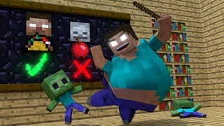 Zombie life - Minecraft Top 5 Life Animations