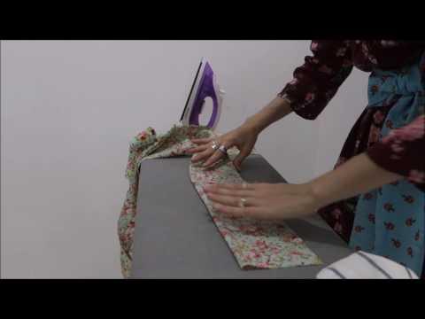 Beginner Sewing Project Tutorial -- DIY Sash or Bow Belt