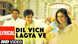 """Dil Vich Lagya Ve"" Lyrical Video Song | Chup Chup Ke | Shahid Kapoor, Kareena Kapoor"
