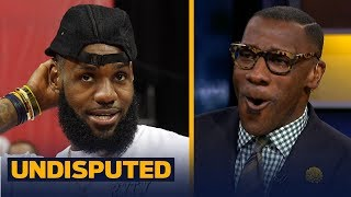 Shannon Sharpe reacts to LeBron