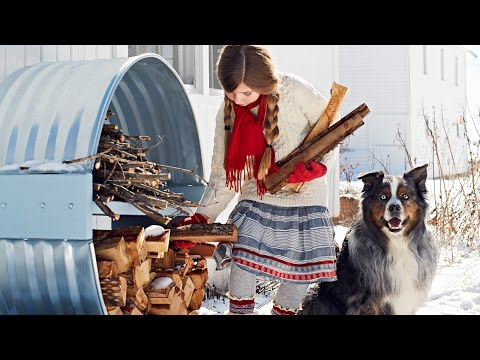 DIY Firewood Rack