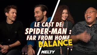 Spider Man: Far From Home - Le cast balance des doss !